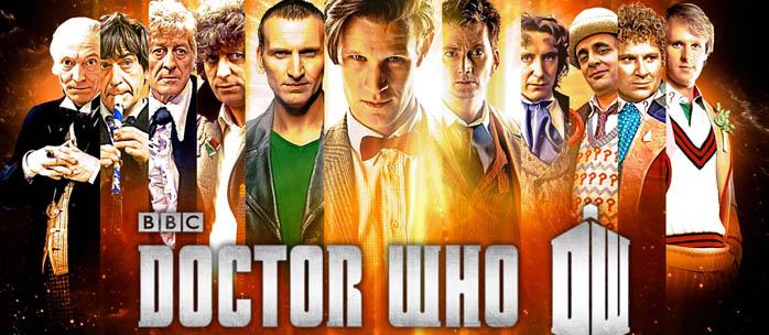 Doctor Who TV Promo Shot