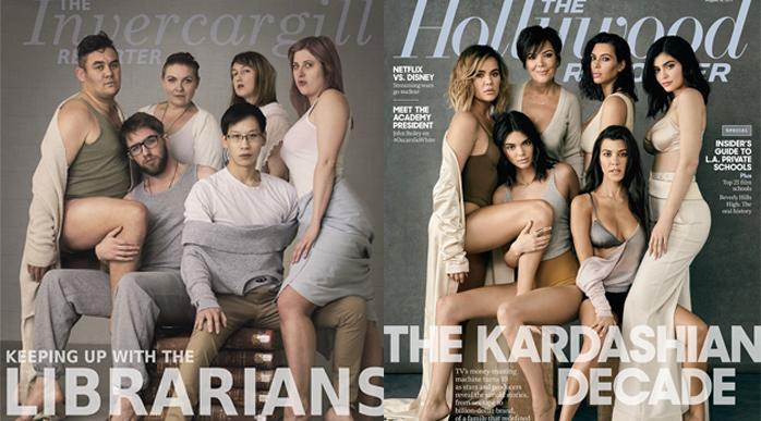 Librarian Kardashian Spoof
