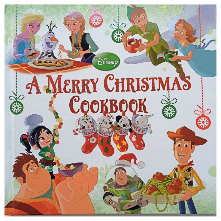 Kids Christmas list item - A Merry Xmas Cookbook