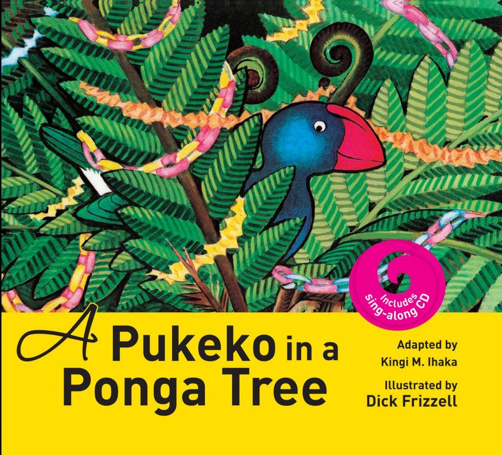 Kids Christmas list item - Pukeko in a Ponga Tree