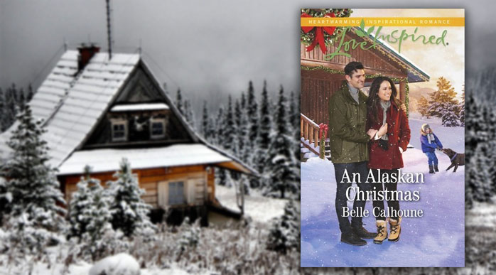 Belle Calhoun, An Alaskan Christmas Book Cover