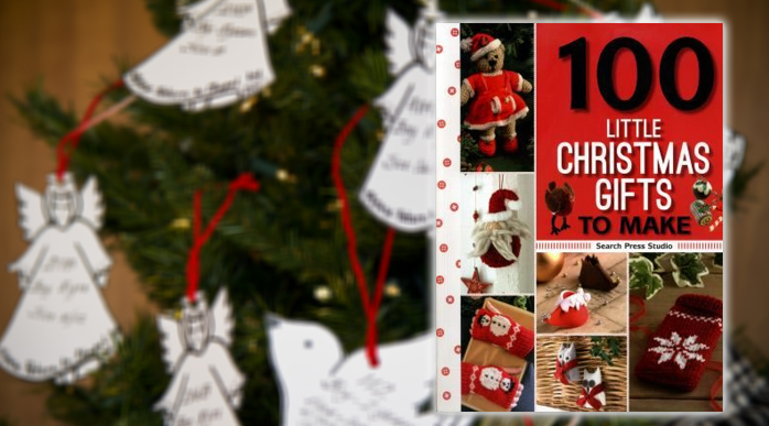 100 little Christmas gifts to make Book Cover