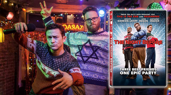 The Night Before DVD Cover