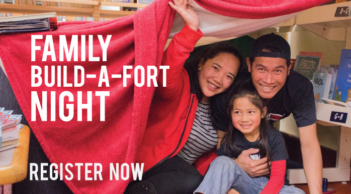 Do you like reading stories by torchlight under your blankets? Do you like  building blanket forts around the house? Then join us for an evening of  stories ...