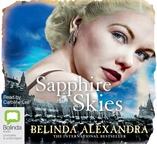 Sapphire Skies by Belinda Alexandra audiobook cover