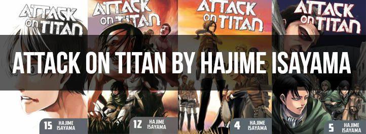 Attach on Titan Manga Cover Art
