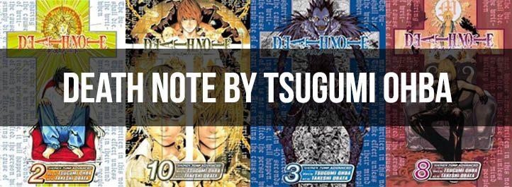 Death Note Manga Book Covers