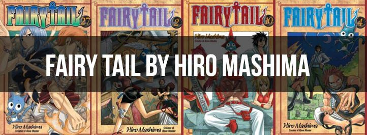 Fairy Tail Manga Cover Art
