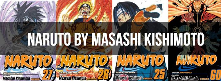 Naruto Manga Cover Art
