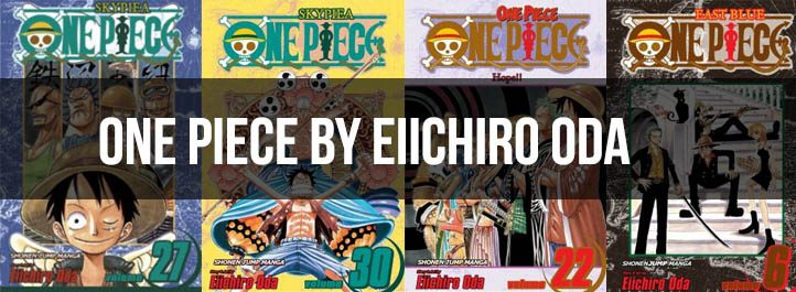 One Piece Manga Cover Art
