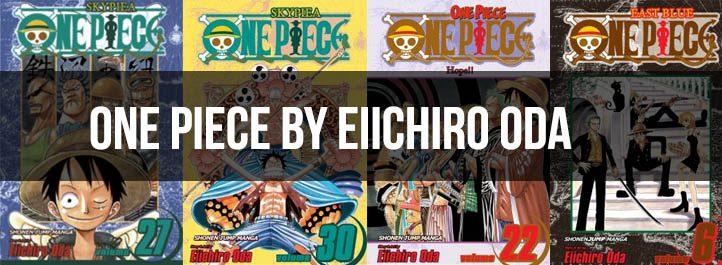 One Piece Manga Cover Art