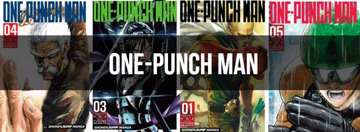 One-Punch Man Manga Cover Images