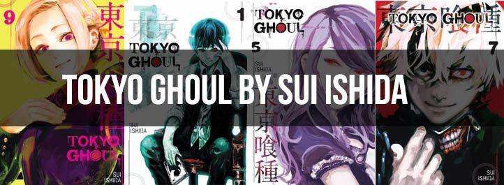 Tokyo Ghoul Manga Cover Art