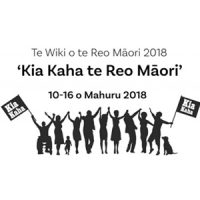 Maori Language Week Logo