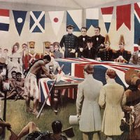 Painting Reconstruction of the Signing of the Treaty of Waitangi by Marcus King